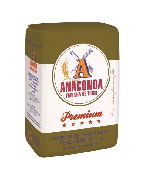 FARINHA DE TRIGO ANACONDA PREMIUM PCT 1KG