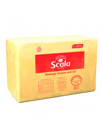 MANTEIGA S/SAL SCALA BLOCO 5 KG