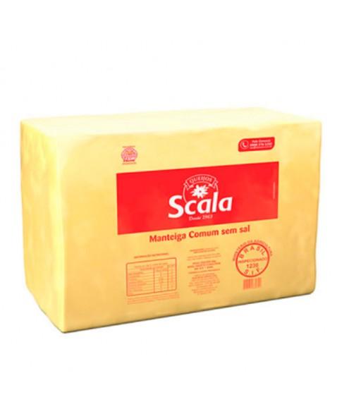 MANTEIGA S/SAL SCALA BLOCO 5 KG
