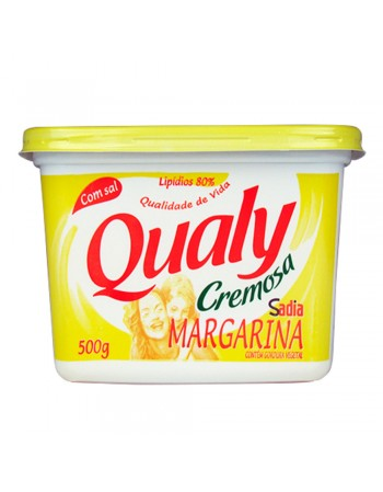 MARGARINA C/SAL QUALY POTE 500G