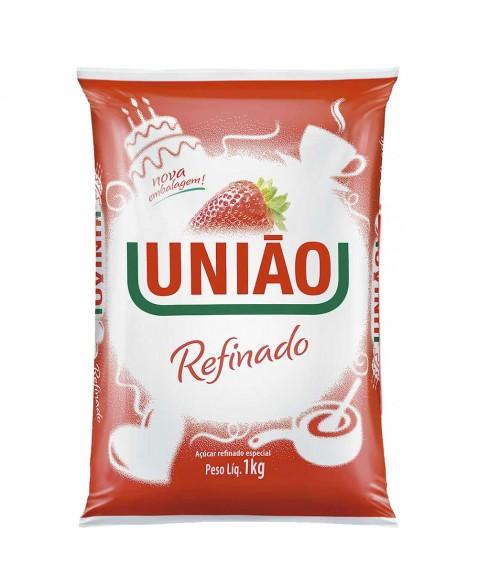 AÇUCAR REFINADO UNIAO PCT 1KG