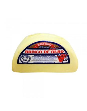 QUEIJO MEIA CURA BRINCO DE OURO PÇ600G