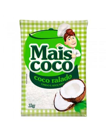 COCO RALADO MAIS COCO UMIDO PCT 1 KG