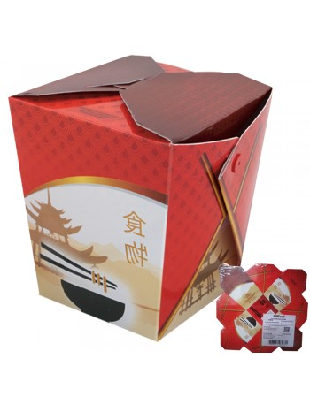 "BOX COMIDA CHINESA 500 ML CH2 ""100 un"""