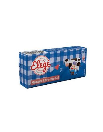 MANTEIGA ELEGE C/ SAL TABLETE 200 G
