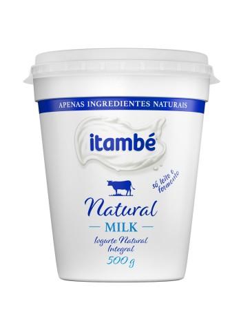 IOGURTE NATURAL MILK INTEGRAL ITAMBE 500G