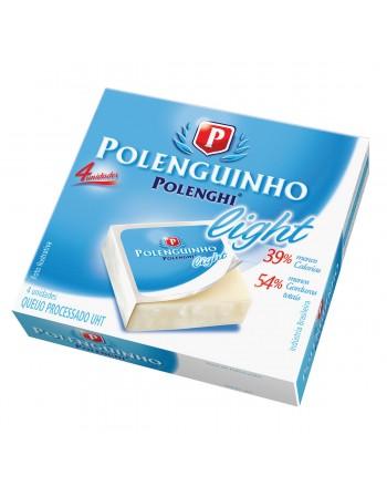 QUEIJO POLENGUINHO LIGHT CX 4X17G