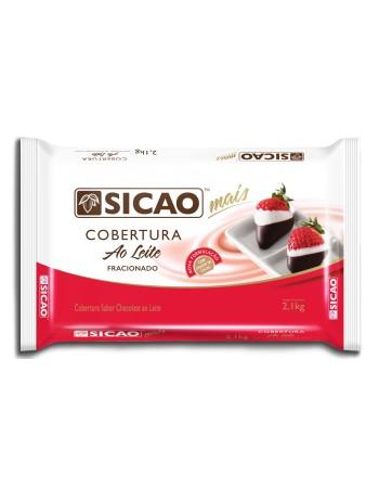 COBERTURA SICAO MAIS AO LEITE EM BARRA 2,1KG