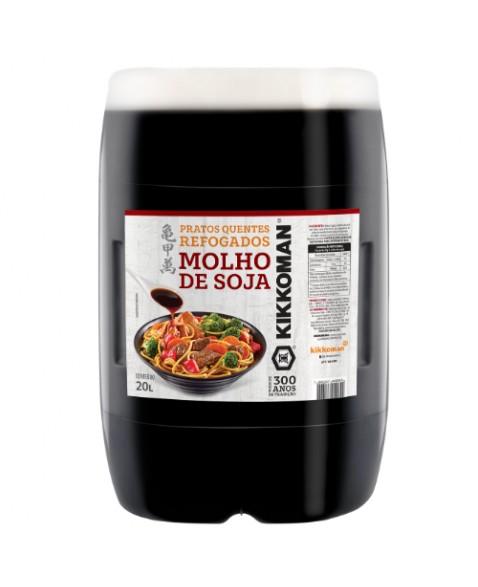 MOLHO DE SOJA PRATOS QUENTES KIKKOMAN 20 LT