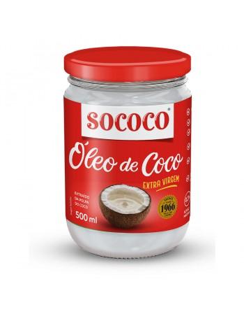 OLEO DE COCO SOCOCO EXTRA VIRGEM 500 ML