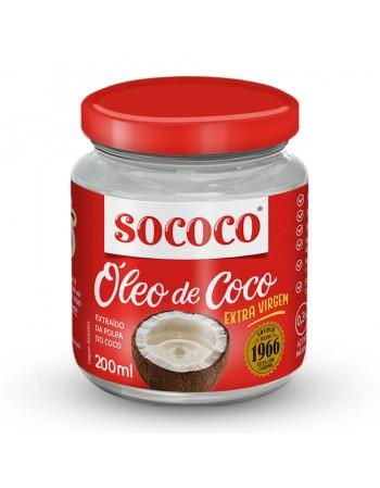 OLEO DE COCO SOCOCO EXTRA VIRGEM 200 ML