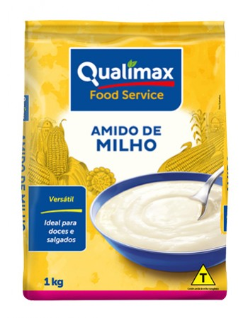 AMIDO DE MILHO QUALIMAX PCT 1KG