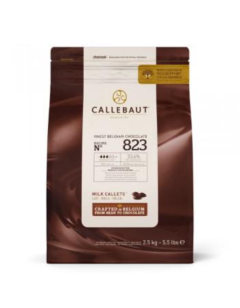 CHOCOLATE AO LEITE CALLEBAUT GOTAS 33,6 % 2,01 KG