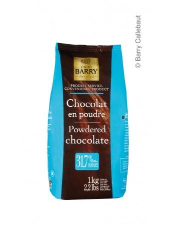 CHOCOLATE EM PÓ CACAO BARRY PÓ 1 KG