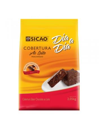 COBERTURA CHOCOLATE AO LEITE SICAO FACIL DERRETIMENTO 2,05 KG