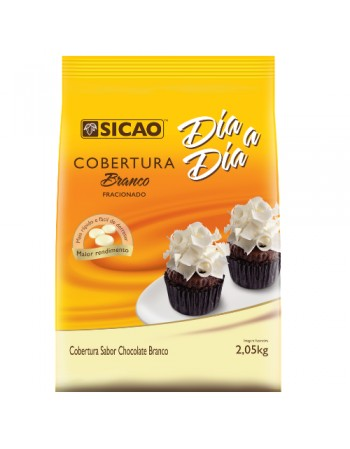 COBERTURA CHOCOLATE BRANCO SICAO FACIL DERRETIMENTO 2,05 KG