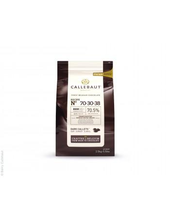 CHOCOLATE AMARGO GOTAS CALLEBAUT 70,5 % 2,01 KG