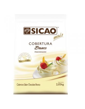 COBERTURA MAIS CHOC. BRANCO SICAO 2,05KG