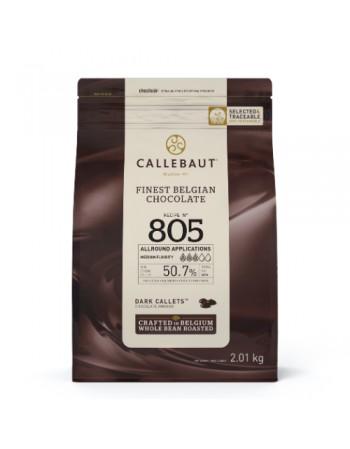 CHOCOLATE AMARGO GOTAS 805 CALLEBAUT 50,7% 2,01KG