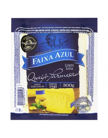 QUEIJO PARMESAO FAIXA AZUL FATIA 300G
