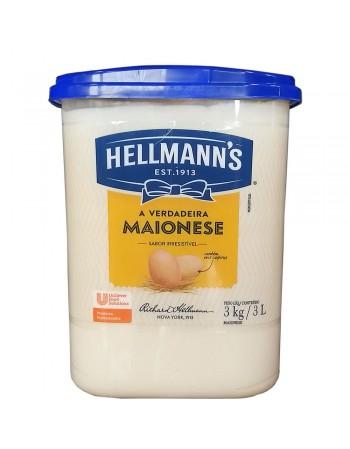 MAIONESE HELLMANN'S BLD 3KG