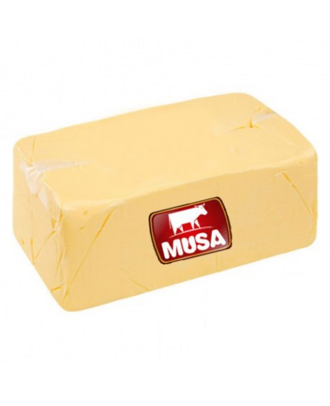 MANTEIGA S/SAL MUSA BLOCO 5KG