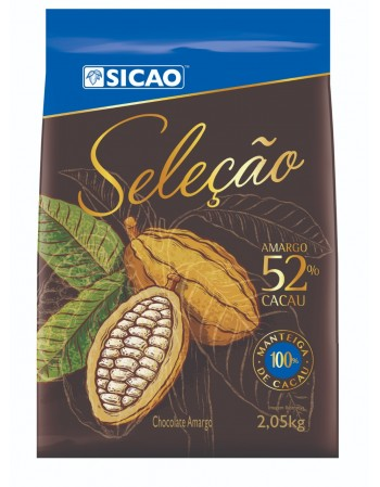 CHOCOLATE SELECAO 52% SICAO