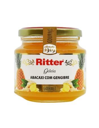 GELEIA DE ABACAXI COM GENGIBRE RITTER PT 400G